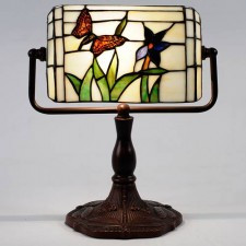 Butterfly Bankers Lamp