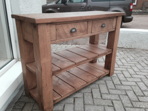 Plank Butchers Block - Stained