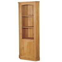 Oak Corner Cupboard