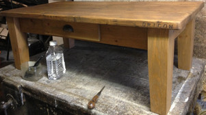 Reclaimed Top Coffee Table