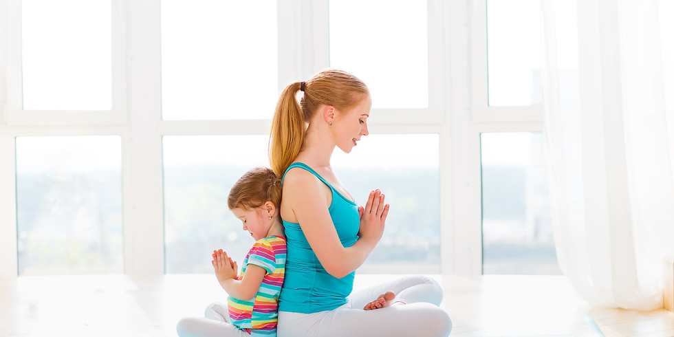 Saturday Child+Me Yoga for Ages 3-6: 11:30am