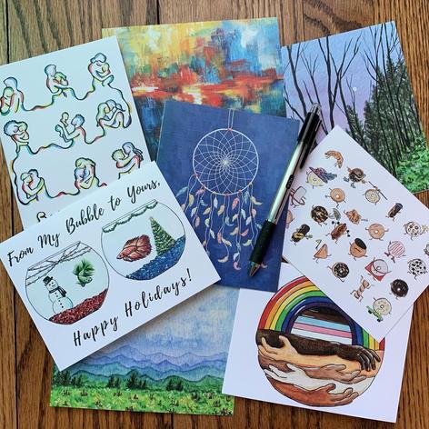 Original Art Cards