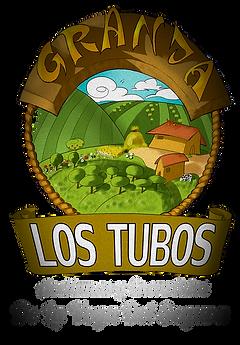Logotipo Aceitunas y encurtidos Granja Los tubos