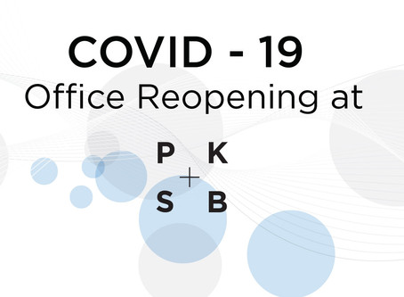 COVID-19 Office Reopening at PKSB