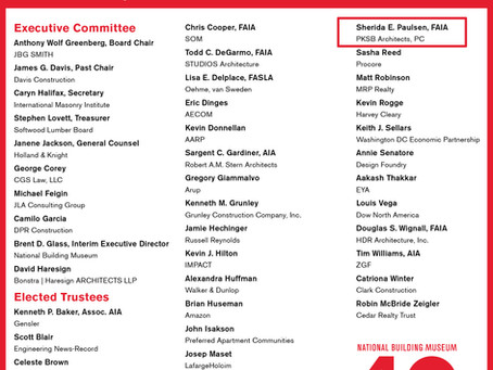 National Building Museum 2021 Board of Trustees