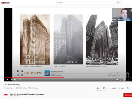 """""""Virtual"""" Public Hearing and Approval for 120 Broadway (aka the Equitable Building)"""