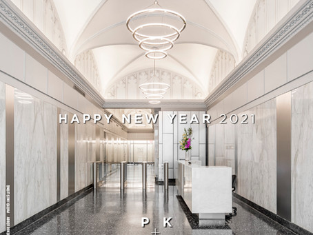 Happy New Year 2021 from PKSB Architects