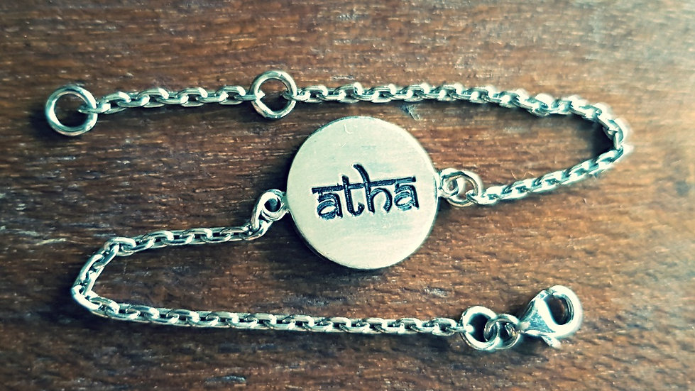 Atha double-faced bracelet