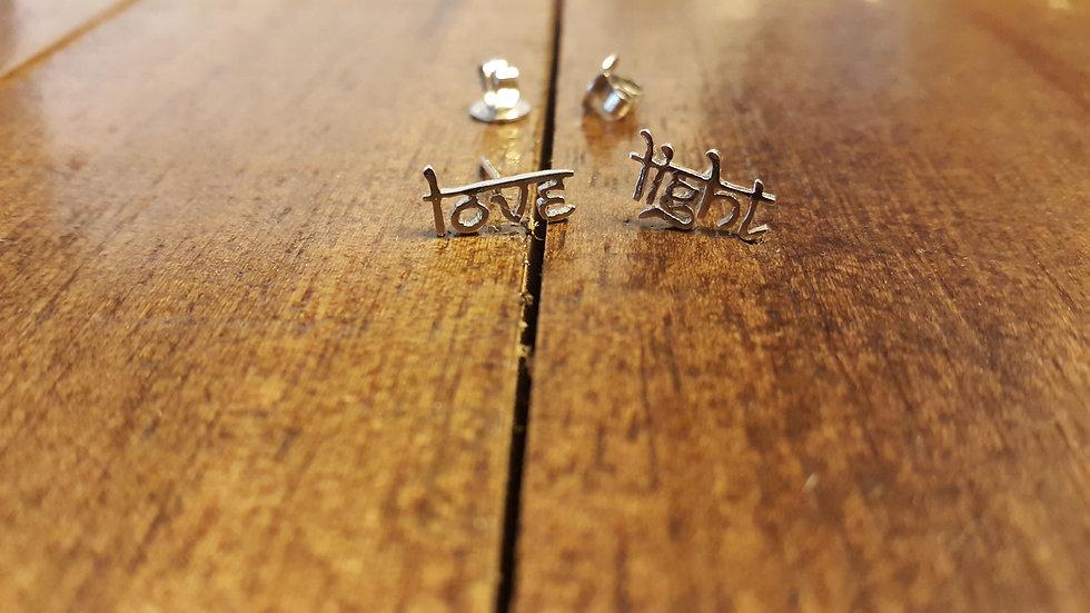 Love Light earrings
