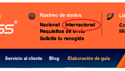 Cómo utilizar el rastreo de importación de casillero en LTD Express.
