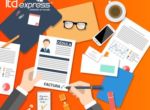 ¿Qué documentos necesito para exportar Courier desde Colombia a Estados Unidos?