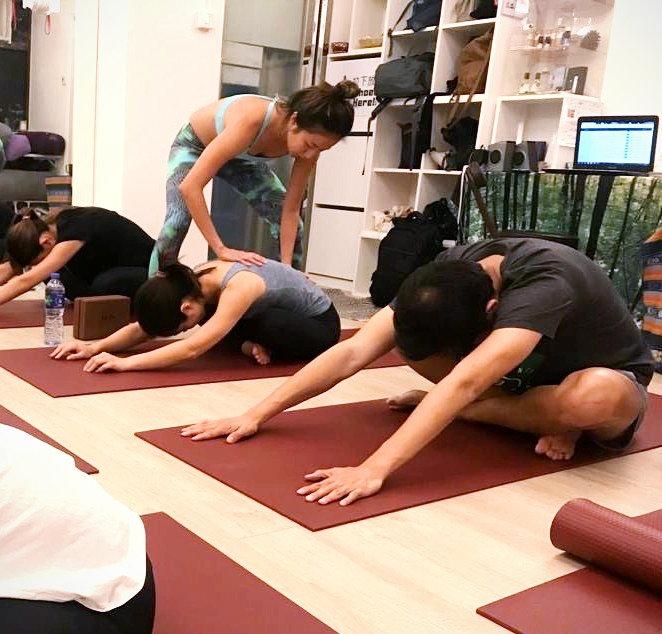 Forrest Yoga Class at Studio