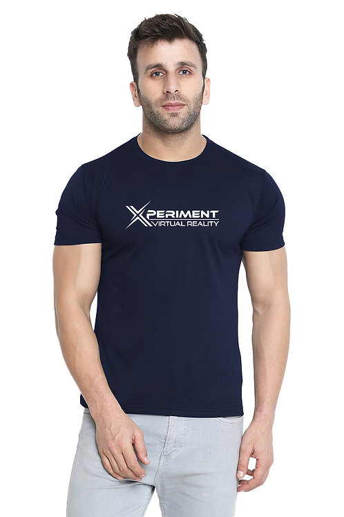 XVR Logo Mens Navy T-Shirt