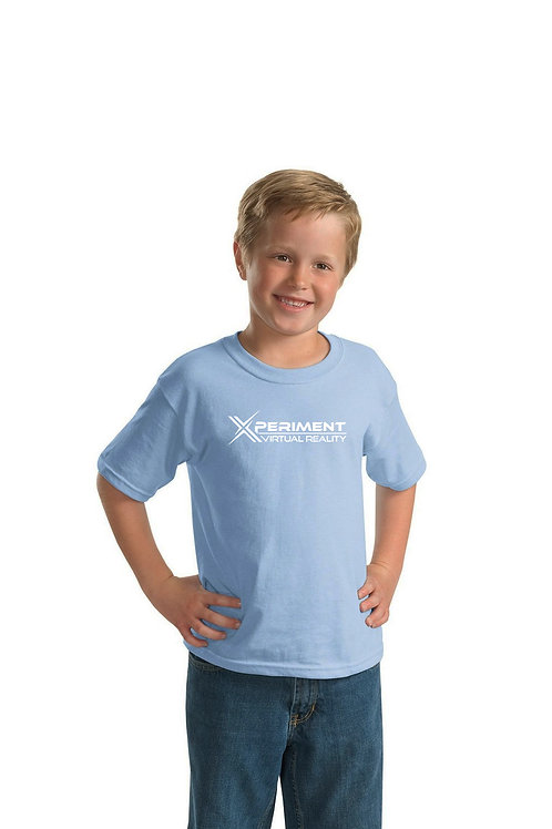 XVR Logo Kids Sky Blue T-Shirt