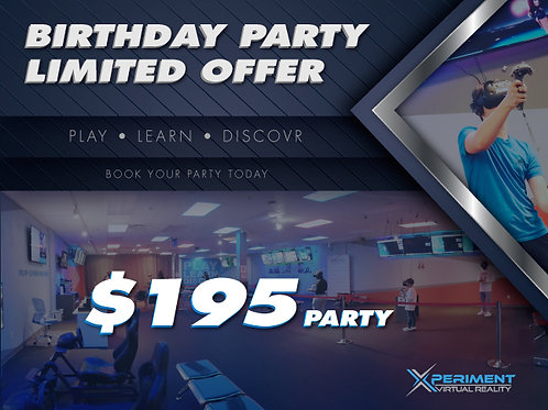 Birthday Party Special
