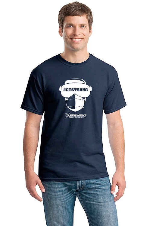 Navy CT Strong T-Shirt