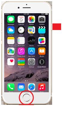 iPhone6以降のの強制再起動の仕方