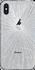 iPhoneXSバックパネル背面ガラス割れ修理