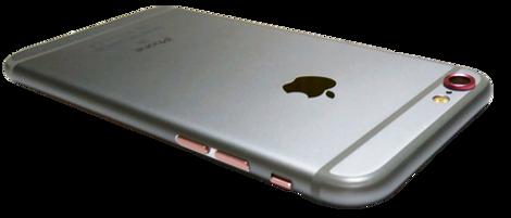 iPhone6sスペースグレイI LOVE iPhone