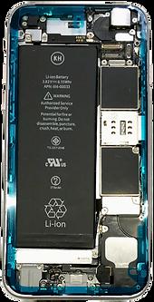 iPhone防水・防塵シールの貼り付け