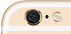 iPhone6Sカメラレンズ割れ修理・iPhone6SPlusカメラレンズ割れ修理