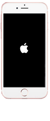 iPhone5SE/iPhone5の強制再起動の画面