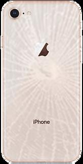 iPhoneバックパネル背面ガラス割れ修理