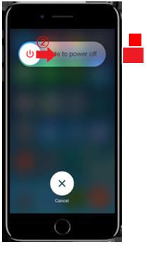 iPhone修理に前にiPhone7の再起動の仕方
