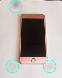 iPhoneカメラ内へのゴミの侵入画像