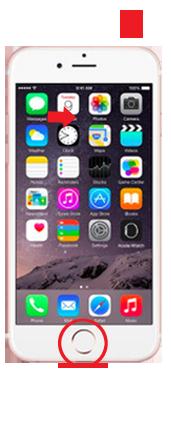 iPhone5SE/iPhone5の強制再起動の仕方