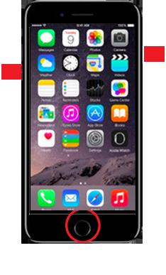 iPhone7の強制再起動の仕方