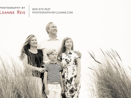 Dreamy Beach Family Session