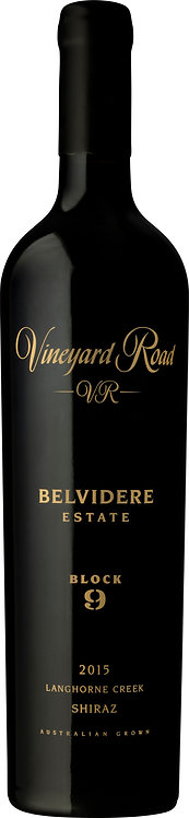 Vineyard Road Belvidere Estate Block 9 Langhorne Creek Shiraz