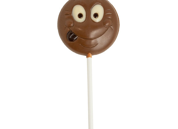 Milk Chocolate Pop Smiley Face 12g