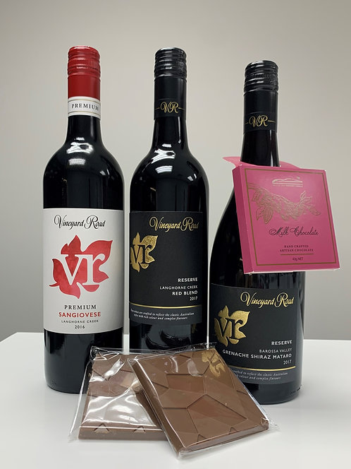 Chocolate and Wine Pairing - The Crowd Pleaser Pack