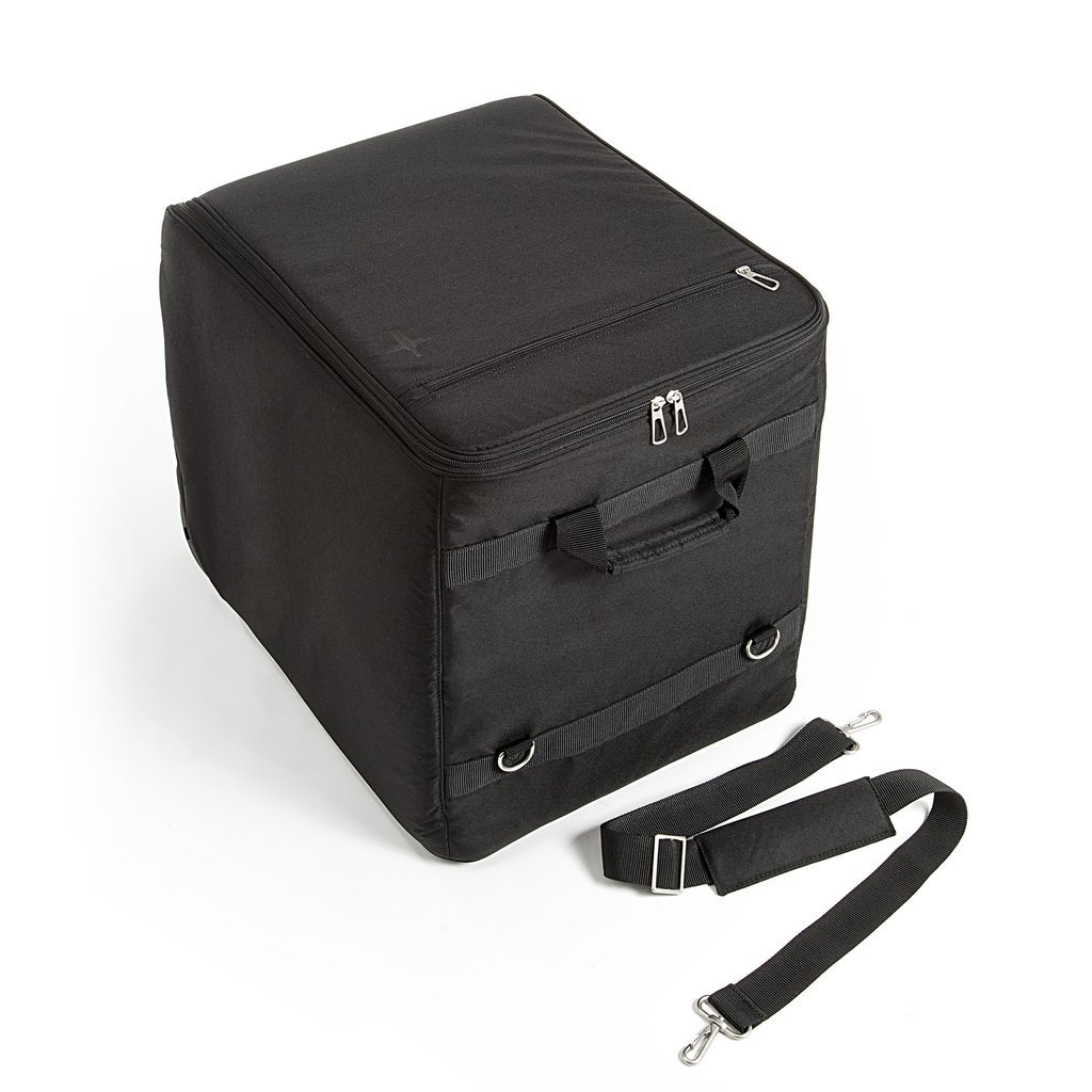 The Wine Check Luggage Black 12 Bottles Includes Shipper