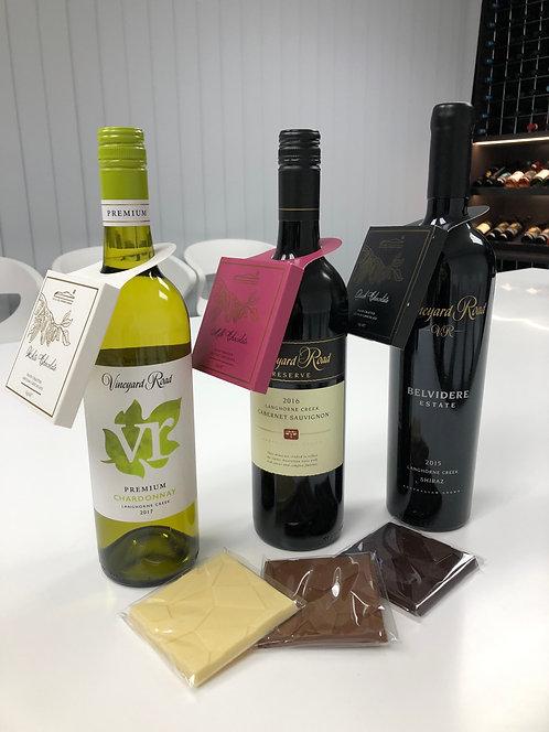 Chocolate and Wine Pairing Pack - Cellar Door's Choice