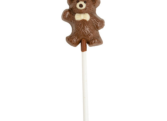 Milk Chocolate Pop Teddy Bear 12g