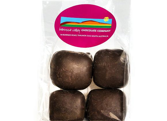 Dark Chocolate Coconut Ice 4pack 150g