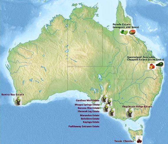 FABAL Agriculture Map Australia