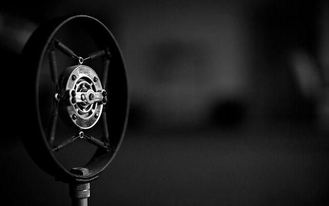 Microphone on Wartnaby website