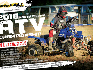 Mc Fall Fuel presents the                         2016 Nth Island ATV Champs