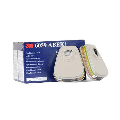 CAJA DE 8 FILTROS 3M 6059 ABEK1