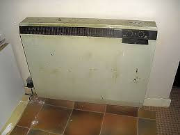 Old night storage heater