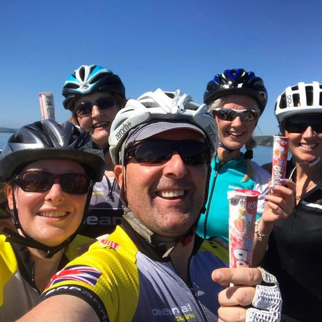 Always time to treat the girls to an ice cream on a hot sunny ride..jpg