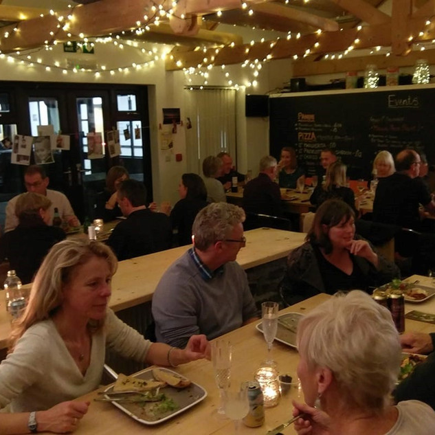 One and All social evening at Cafe Central Italian night. Strictly no Lycra, but plenty of bike talk..jpg
