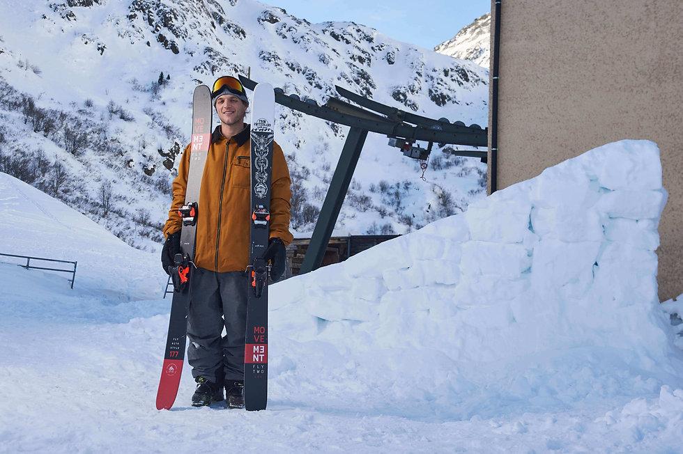 Movement Skis -Laurent de Martin - From
