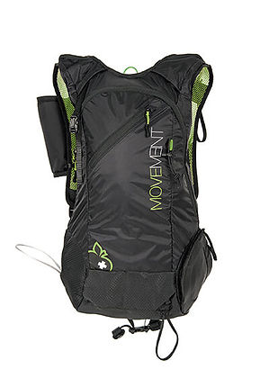 Movement Skis - Backpack - black-green_f