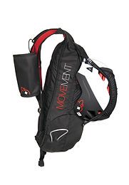Movement Skis - Backpack - black-red_sid
