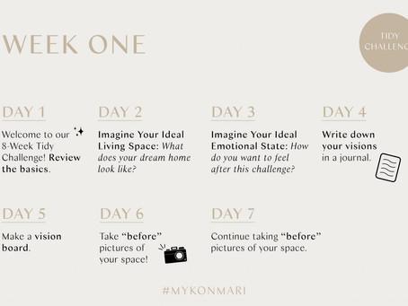 8-Week Tidy Challenge: With Mari Kondo